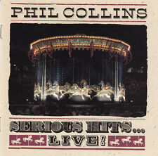 Phil Collins CD Serious Hits...Live! - Germany (EX/VG)