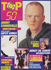 TOP 50 201 (6/1/90) JIMMY SOMMERVILLE PATRICIA KAAS PHIL COLLINS FRANCOIS VALERY