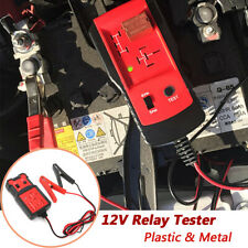 12V Electronic Relay Tester Cars Auto Battery Checker Diagnostic Tool Detector