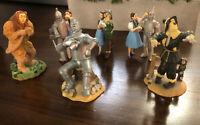 Lot Of 6 The Wizard Of Oz Ornament Halllmark / Enesco - Dorothy, Lion, Tin Man