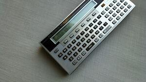 Vintage Sharp Pocket Computer PC-1500A Calculator