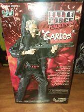 "Blue Box BBi  Elite Force  Terminate ""Carlos""  1:6 FIGURE MIB RARE"
