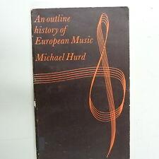 Libri di un profilo europeo MUSICA MICHAEL ferito, NOVELLO 1968