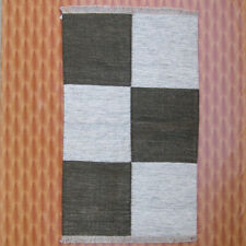 4x6 Rugs Floor Mat Navajo Silver Kilim Dhurrie Dining Room Afghan Home Décor
