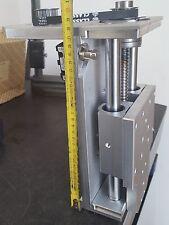 NEW ASSE Z130 mm  PER CNC FRESATRICI COMPLETO DI STAFFA KRESS