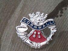 Duke of Cornwall Lapel Military Badge