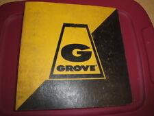 GROVE RT60S Crane Illustrated PARTS Manual  Caterpillar 3208  03/1978