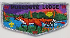 OA Lodge 221 Muscogee S19a Flap (1991); CB    [R347]
