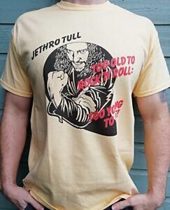 Jethro Tull Too Old To Rock T Shirt Folk Prog Rock Music Steeleye Span Yes V069