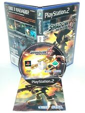 SHADOW THE HEDGEHOG - Playstation 2 Ps2 Play Station Gioco Game