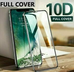 10D FULL COVER Tempered Glass Screen Protector For iPhone 12,12 Mini,12 Pro Max