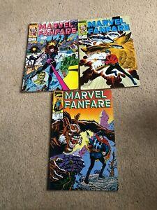 Marvel Fanfare (Vol. 1 - 1982) - 11, 17, 49 - George Perez, Gil Kane