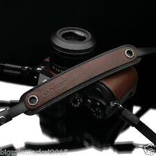Gariz Italian Leather Neck Strap Brown for Sony Alpha NEX Leica Fuji OM-D Lumix