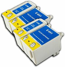 4 T040/41 Non OEM Cartouche D'encre Pour Epson Stylus Photo Printer C62 CX3200 CX3250