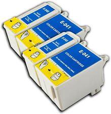 4 T040/41 no OEM Cartucho De Tinta Para La Impresora Fotográfica Epson Stylus C62 CX3200 CX3250