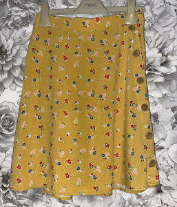 Girls Age 14 (13-14 Years) Matalan Floral Skirt