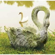 Museum Quality GRACEFUL SWAN PLANTER Garden Statue NEW!