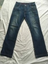 Redskins Mid Blue Fade Jeans 32x34 Straight Leg PHIL