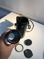 Canon FD 200mm F/4 S.S.C. SSC Telephoto Prime Lens EXCELLENT w/ Caps and Case