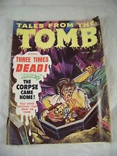 TALES FROM THE TOMB SEPTEMBER 1969 VOLUME 1 NUMBER 7 EERIE
