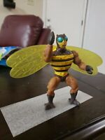 Vintage Mattel MOTU Masters of the Universe Action Figure 1983 Buzz Off
