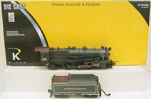 K-Line K3380-5358CC PRR K4 Pacific Steam Locomotive & Tender LN/Box
