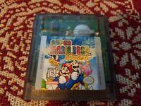 Super Mario Bros. Deluxe (Nintendo Game Boy Color, 1999) - Cartridge! Save Works