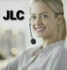JLC Motion Wired USB Headset Black Call Centre Skype Zoom PC Laptop Earphone Mic