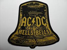 AC/DC   HELLS BELLS  WOVEN  PATCH