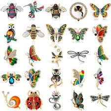New Fashion Insect Animal Bee Butterfly Brooch Pin Women Wedding Jewelry