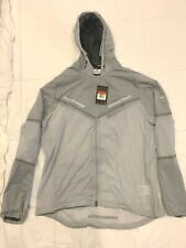 3M New Nike Running Hurricane Vapor Jacket Large Wolf Grey Men's Sportswear Tech