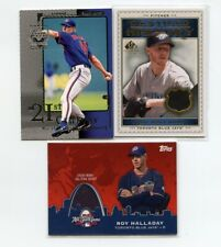 (2) ROY HALLDAY Legendary Cuts & Topps Jersey Cards - 100% Charity Donation