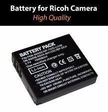 Battery for Ricoh  CAMERA DB-60 DB60 DB-65 DB65.