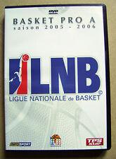 DVD 1 Basket Pro A saison 2005/2006 + DVD 2 finale Bercy MSB-Nancy /N6