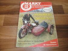 Markt für klassische Automobile+Motorräder Spezial  # 1/1988 -- MOTORRAD SPEZIAL