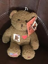 2002 Collectible Centennial Stamp Teddy Bear-  NWT And Stamp
