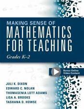 Making Sense of Mathematics for Teaching Grades K-2: Communicate the Context Beh