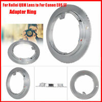 Aluminium Alloy For Rollei QBM Camera Lens to For Canon EOS EF Cam Adapter Ring