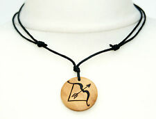 Bow and Arrow Necklace Archery Pendant Artemis Archer Jewellery Mens Ladies Gift