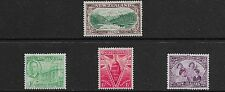 New Zealand 1946 KGVI Peace Issue - MH (plus recut 3d - used)