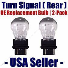 Rear Turn Signal/Blinker Light Bulb 2-pack Fits Listed Lincoln Vehicles - 4157K