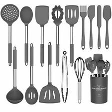 Silicone Cooking Utensil Set,Umite Chef Kitchen Utensils 15pcs Cooking Utensils
