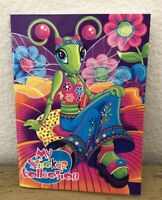 Vintage Lisa Frank Diva Dragonfly Sticker Book No Stickers