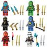 Ninjago Toy Boys Ninja Mini Figures X 6 Kai Cole Lloyd Nya Jay & Zane