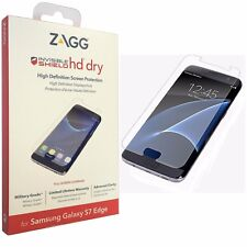 Genuine Zagg Invisibleshield HD Premium Screen Protector Samsung Galaxy S7 Edge