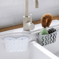 2PK Kitchen Strainer Soap Sink Caddy Storage Sponge Rack Holder Organizer AU