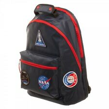 Nasa Patches Space Exploration Apollo Moon Landing Backpack Bag Bookbag BP5EDJNS
