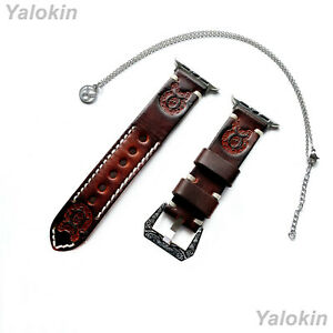 Taurus Zodiac Set Embossed Leather Band for Apple 38 40 42 44mm Watch All Series