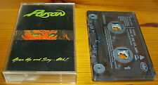 POISON OPEN UP AND SAY AHH CASSETTE TAPE ALBUM