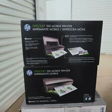 BNIB HP Officejet 100 Mobile Inkjet Printer NEW in Sealed Retail box SHIPIN24